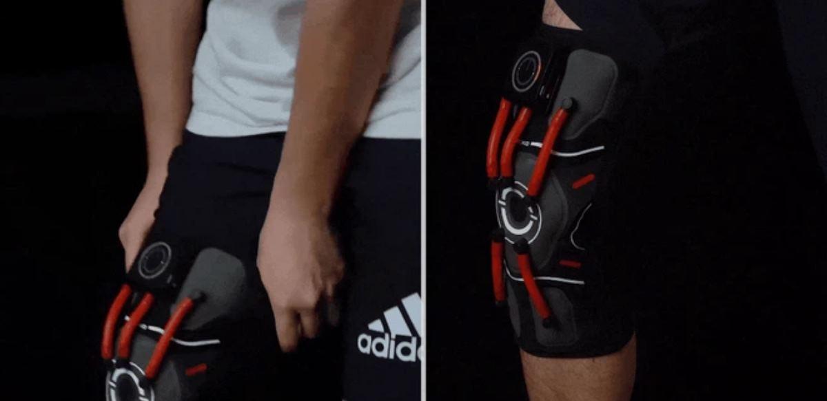 E-knee, una rodillera electrónica con Inteligencia Artificial