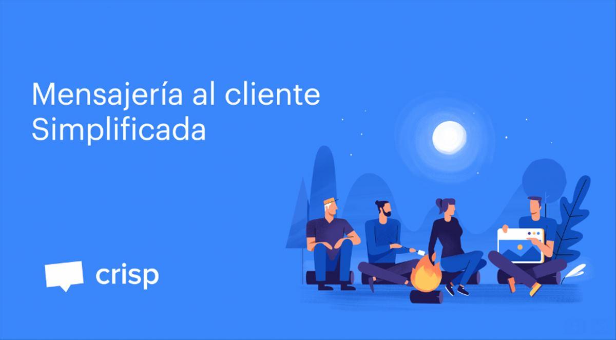 Crisp, el chat para tu web que incluye bots, estadísticas y mensajería compartida