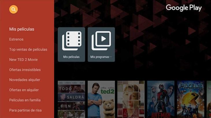 Google Play Películas y TV