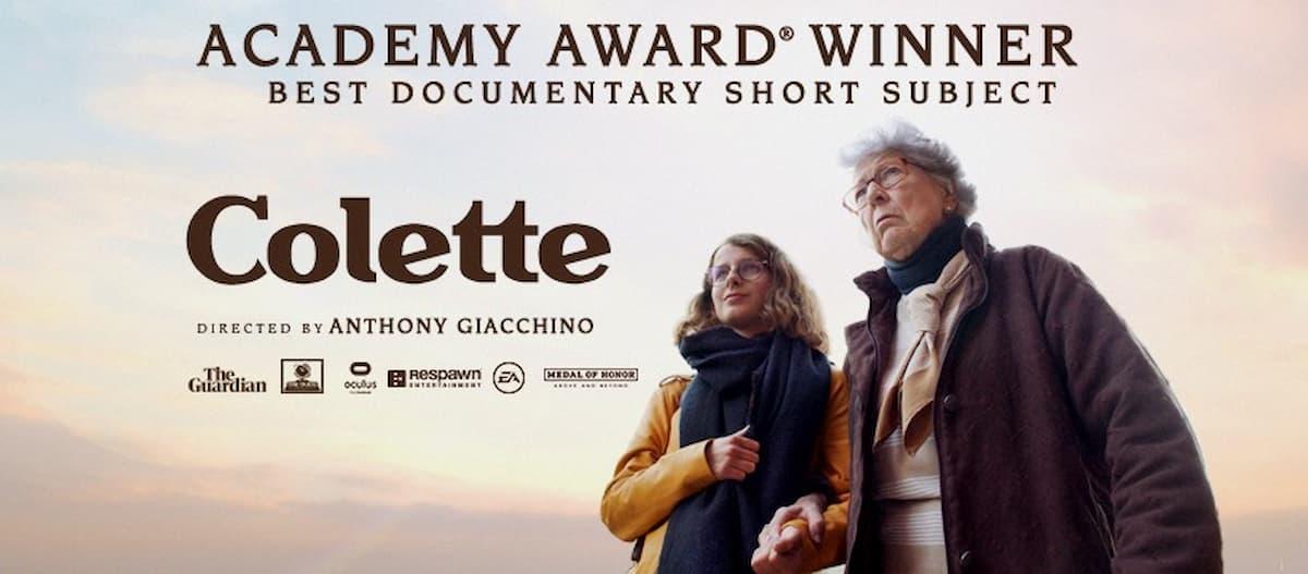 Colette, película producida para un videojuego, ganó un Óscar a mejor corto documental