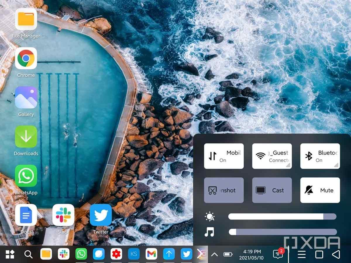 Descubren que el Xiaomi Mi Mix Fold ya dispone de modo PC con su última actualización