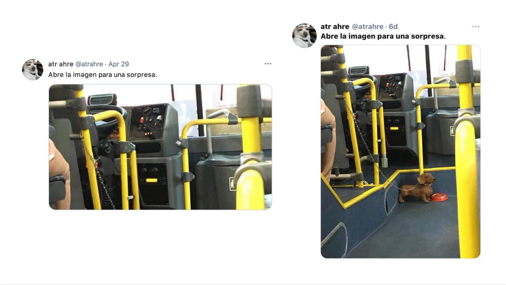 Comparación imágenes Twitter
