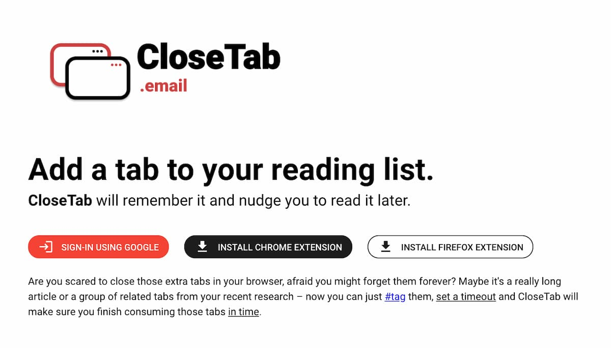 Cómo configurar recordatorios para volver a revisar un sitio web que visitaste