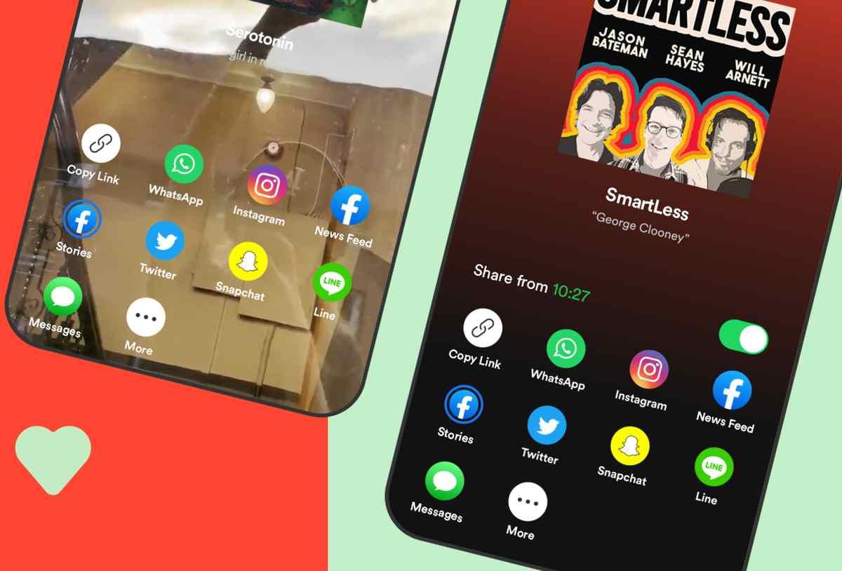 Spotify ahora permite compartir podcasts desde puntos de tiempos específicos