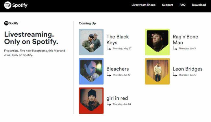 Spotify Livestream