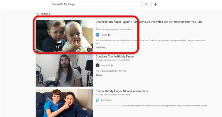 charlie mordió dedo