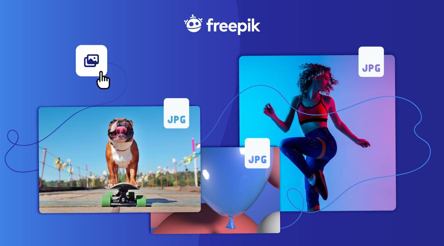 Novedades en Freepik y en Flaticon: copiar y pegar, descargar diferentes tamaños y más
