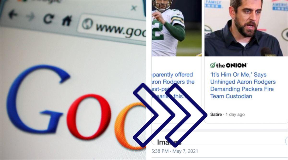 El contenido satírico en el buscador de Google podría comenzar a marcarse como tal
