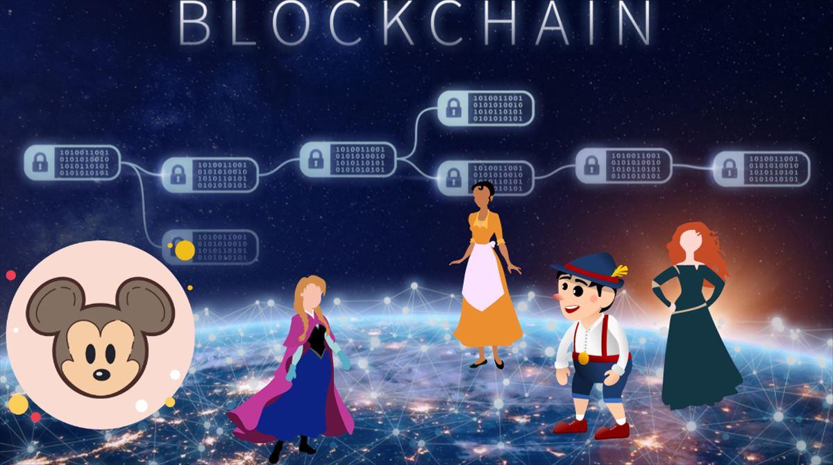 Disney muestra un sistema de distribución de películas basado en blockchain