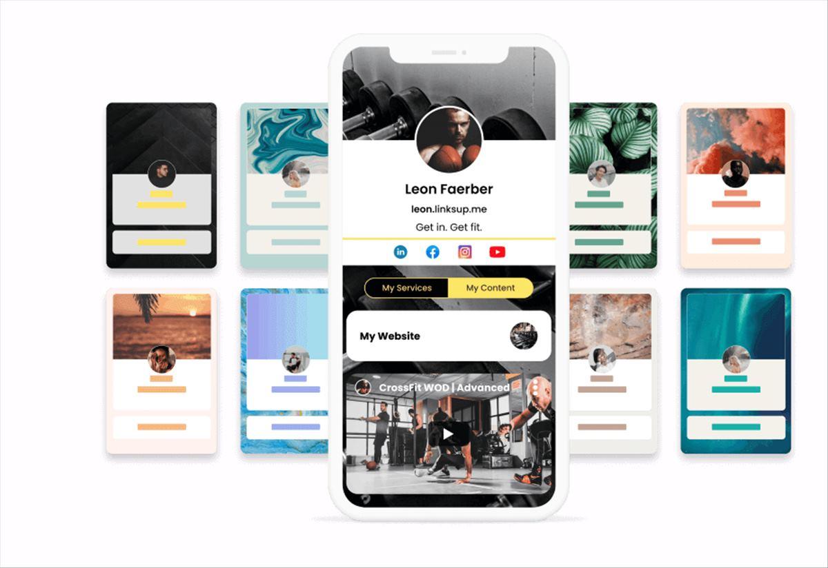 LinksUp, para crear una página donde vender tus servicios