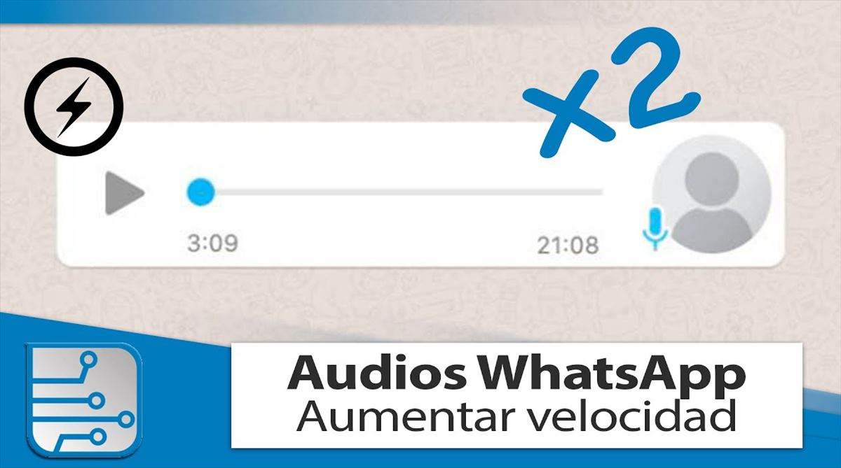 El control de velocidad de audios en Whatsapp ya está disponible para todos