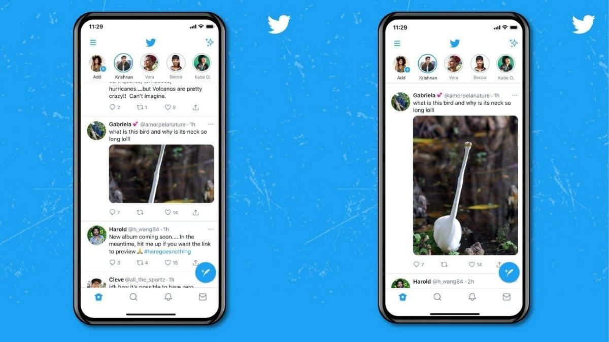 El fin de algunas bromas y sorpresas: Twitter ya no recorta las imágenes en la vista previa de los tweets