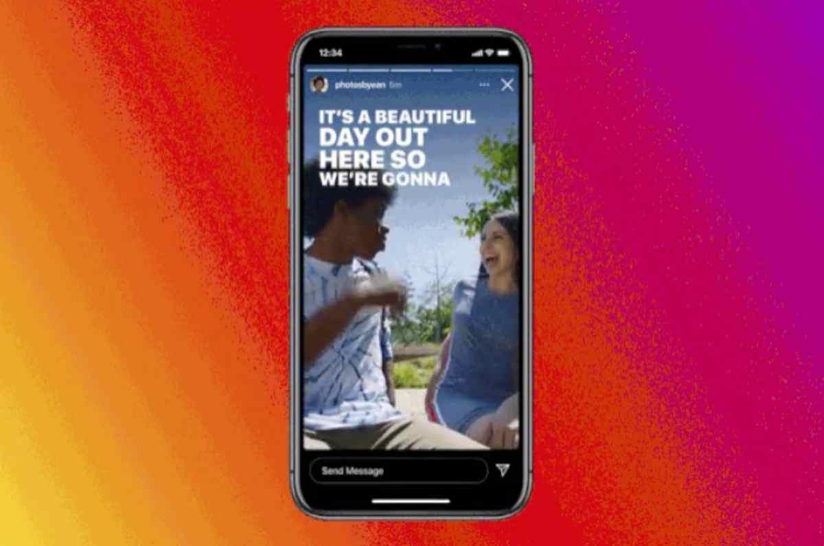 Llegan los subtítulos en las Stories de Instagram a modo de stickers