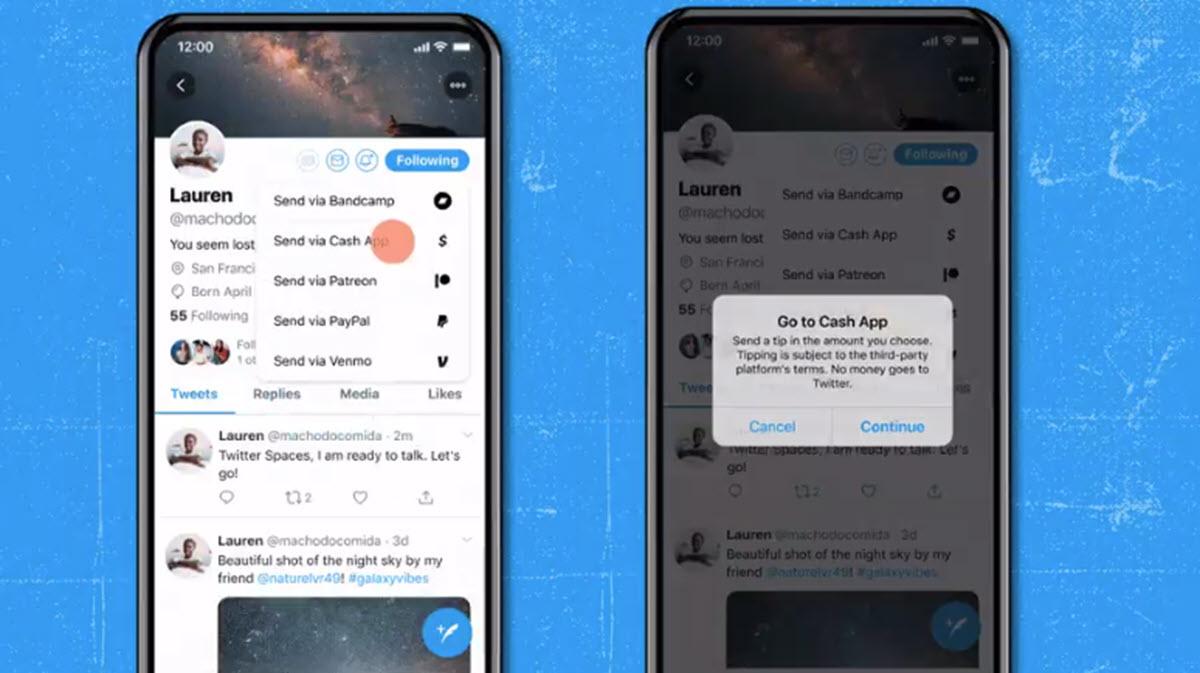 Así funciona la nueva opción de Twitter para dar propinas a otros usuarios