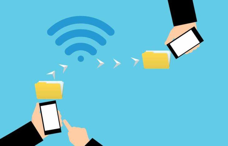 transferencias por wifi