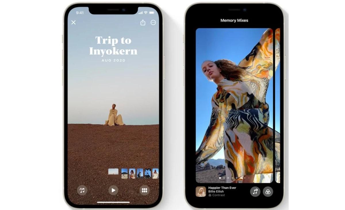Apple Photos iOS 15