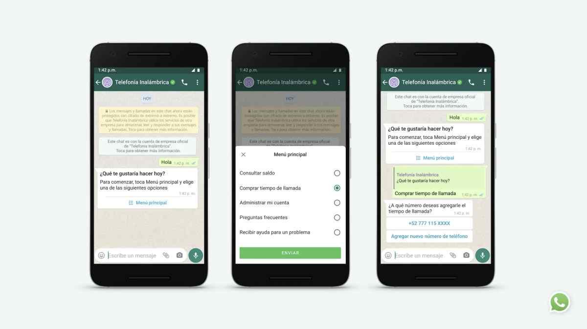 WhatsApp lleva mejoras para facilitar la comunicación entre clientes y empresas