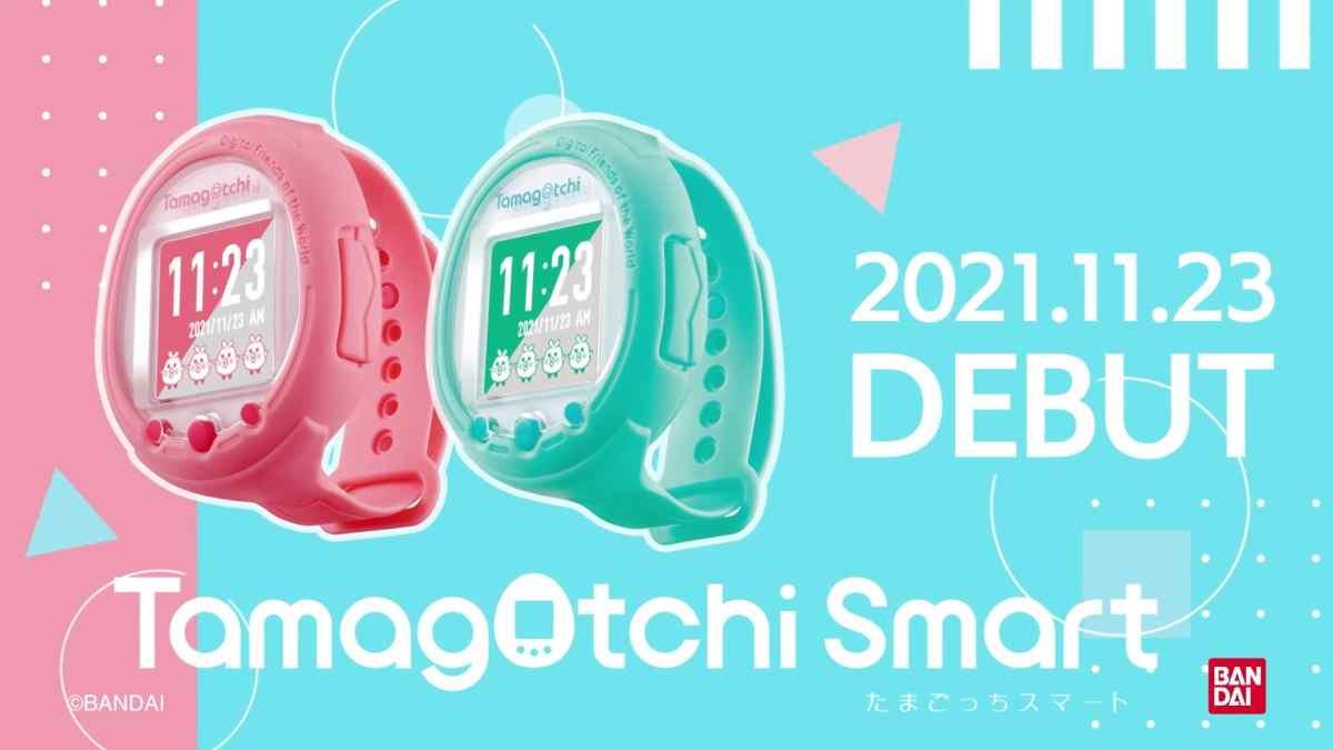 Bandai trae de vuelta a los Tamagotchis en un nuevo reloj inteligente