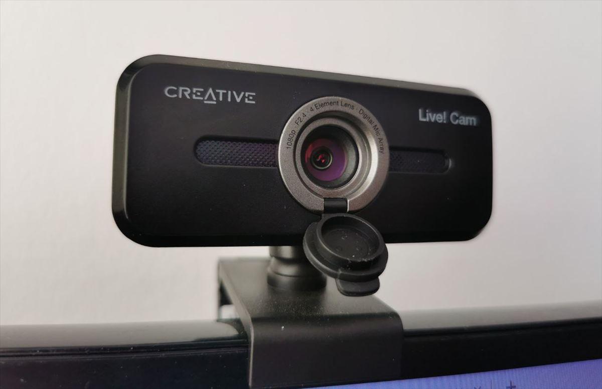 Así es la LIVE CAM SYNC 1080P V2, la nueva webcam de Creative
