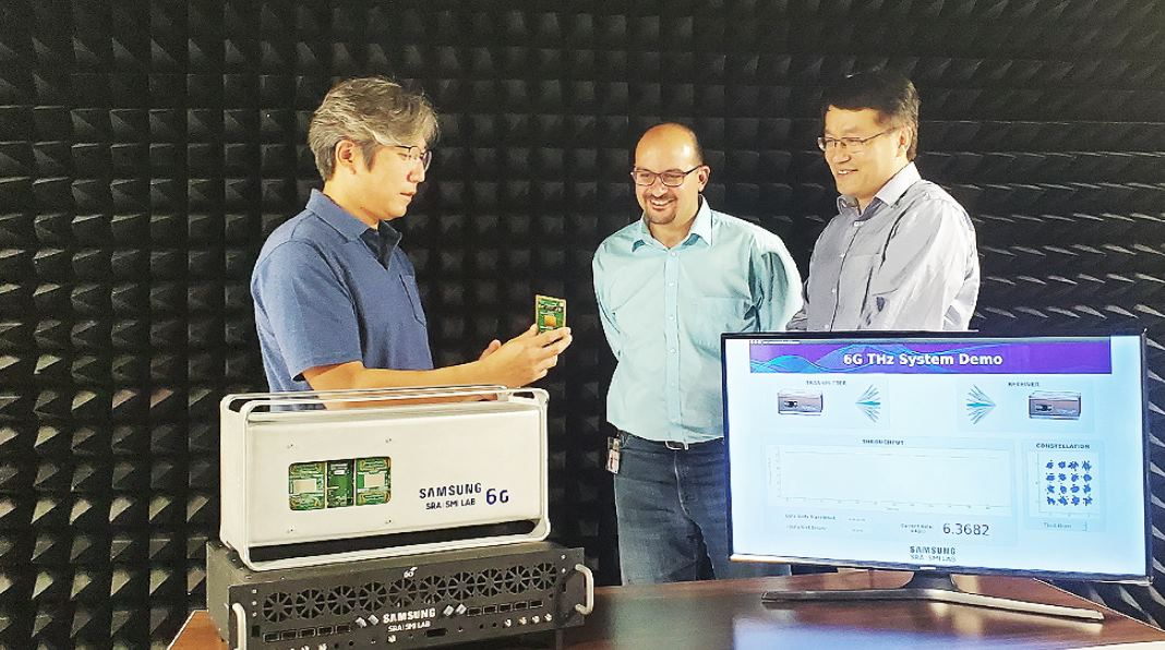 Samsung muestra su primer prototipo de sistema 6G, capaz de transmitir a 6.2 Gbps