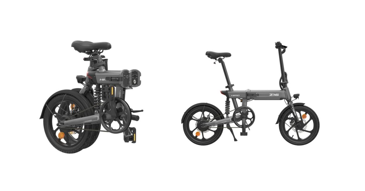 HIMO Z16, una bicicleta eléctrica plegable con 80 km de autonomía