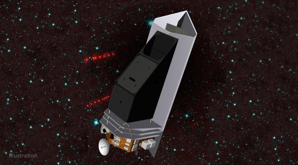 La NASA aprobó la producción de un telescopio espacial para detectar asteroides