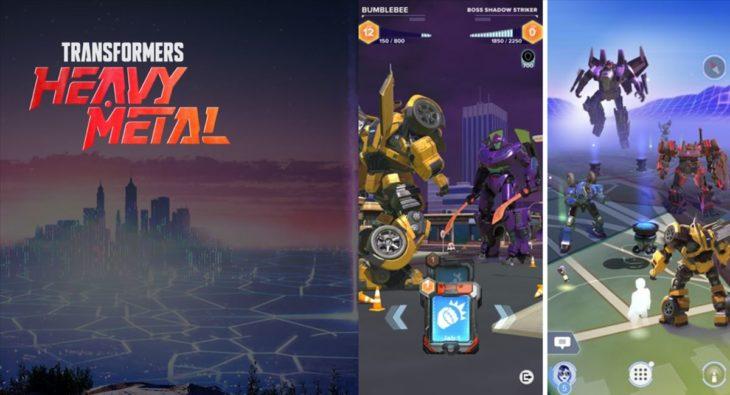 Transformers: Heavy Metal, otro juego de realidad aumentada de los creadores de Pokémon Go