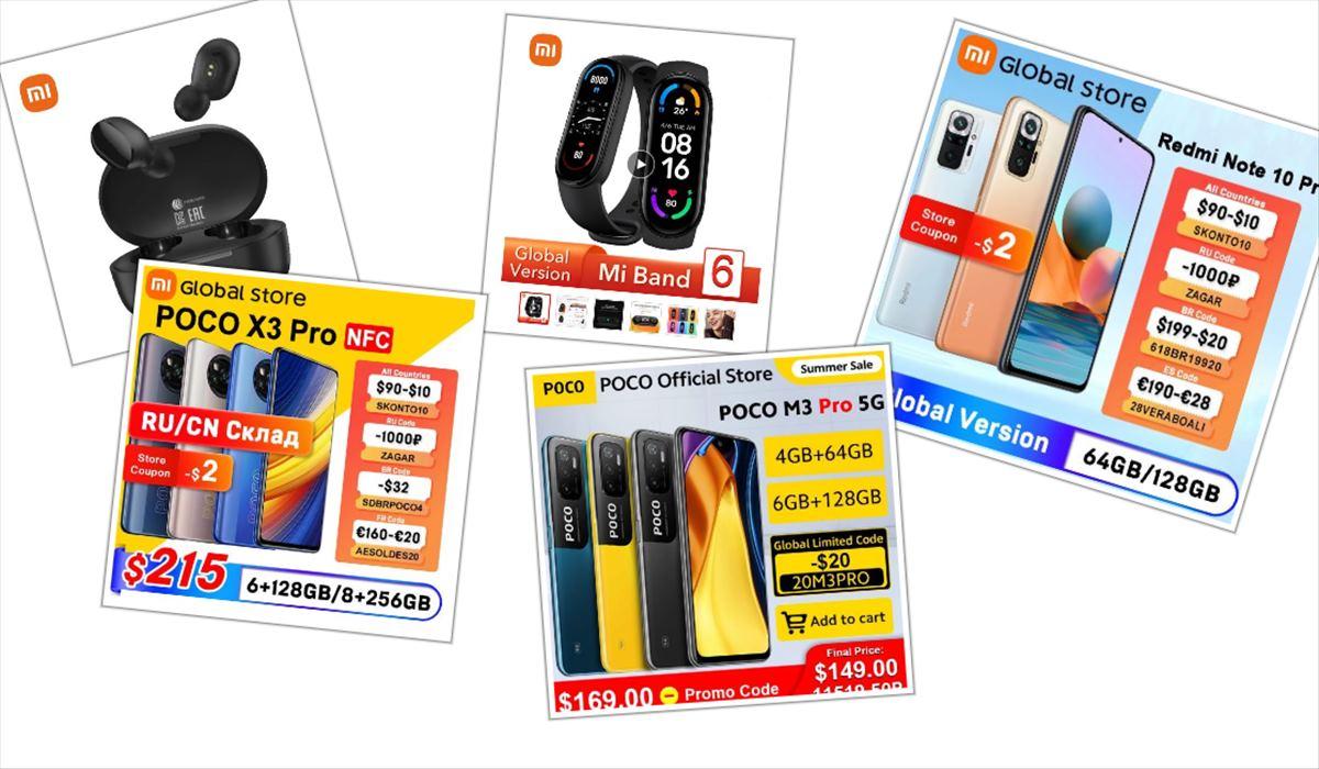 Xiaomi presenta descuentos importantes en varios de sus productos