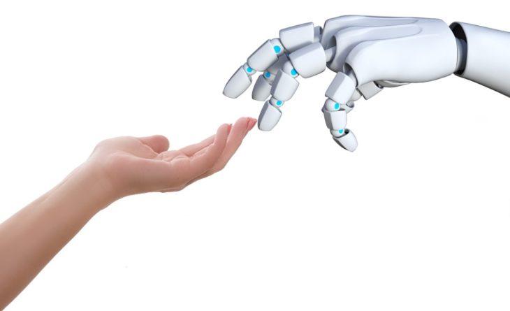 Cómo darle sentido del tacto a un robot