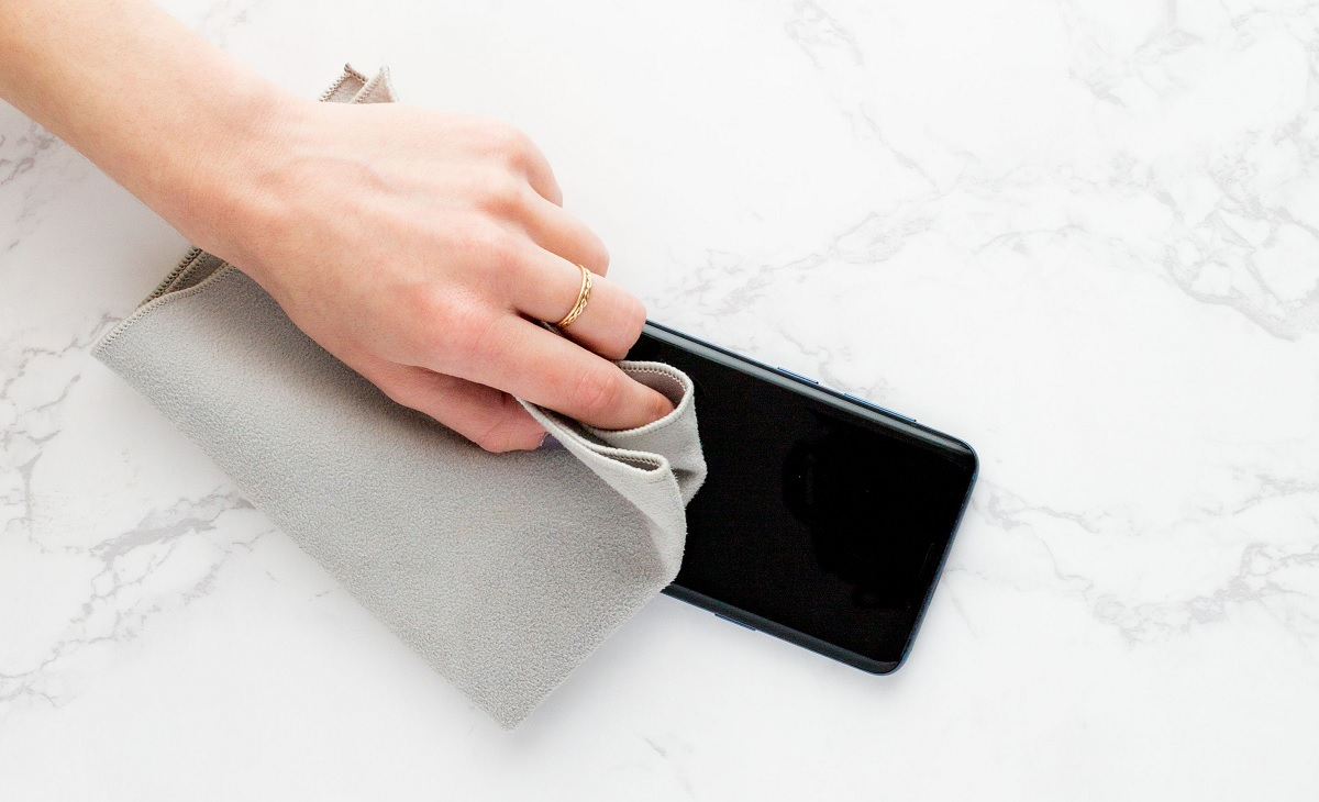 Limpiar agua smartphone
