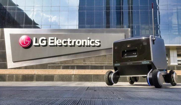 Robot repartidor de LG, todos los detalles