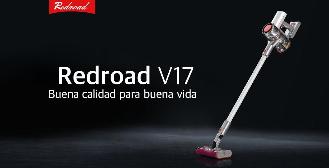 RedRoad V17, una aspiradora inalámbrica con una tecnología superior