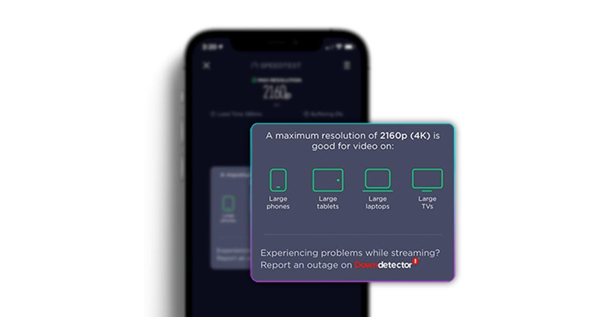 Speedtest lleva su test de velocidad de vídeo a Android