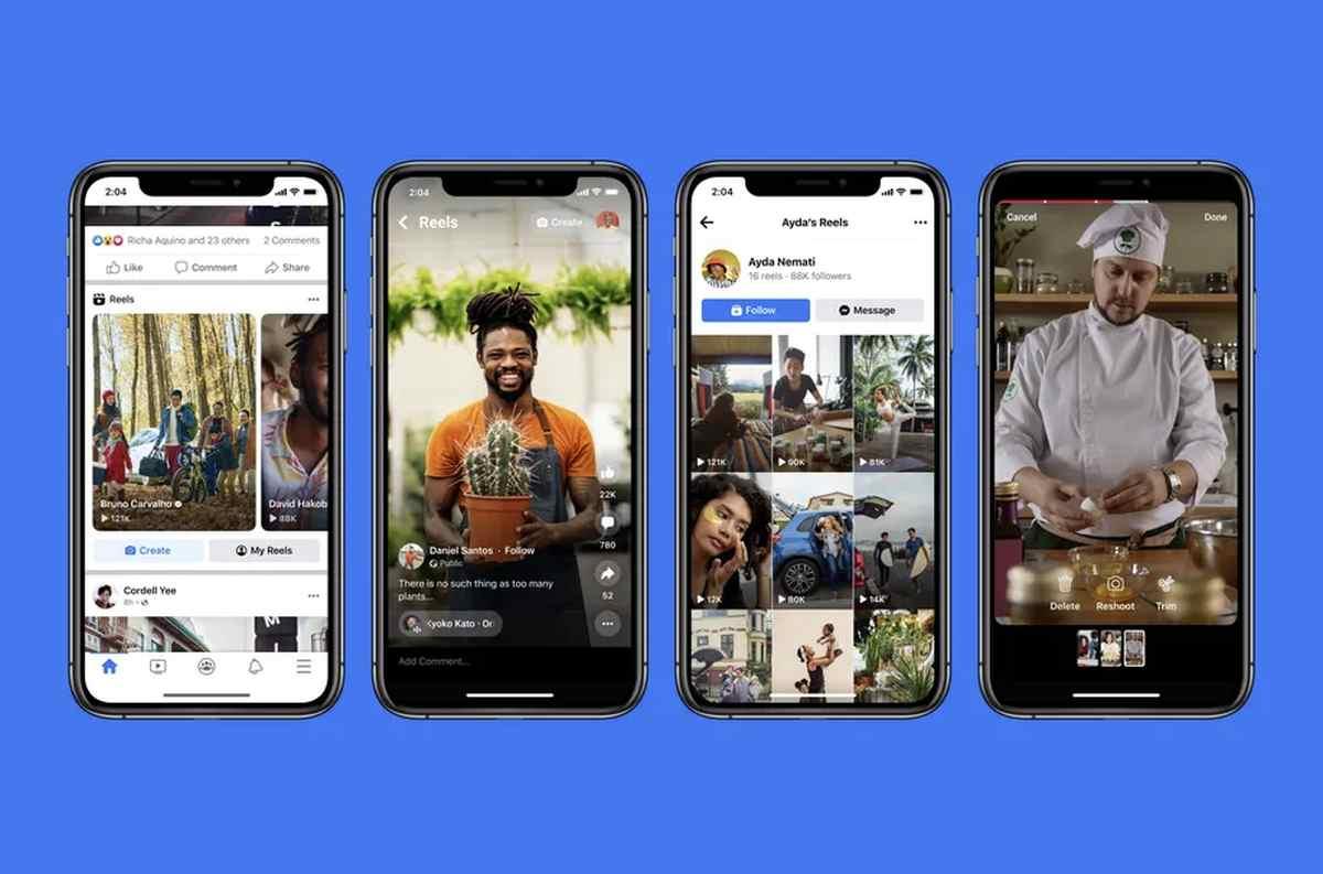 Facebook Reels se expande para competir junto a Instagram Reels contra TikTok