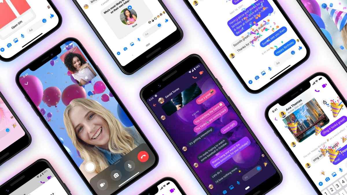 Cómo celebrar cumpleaños con amigos con las nuevas funciones de Messenger