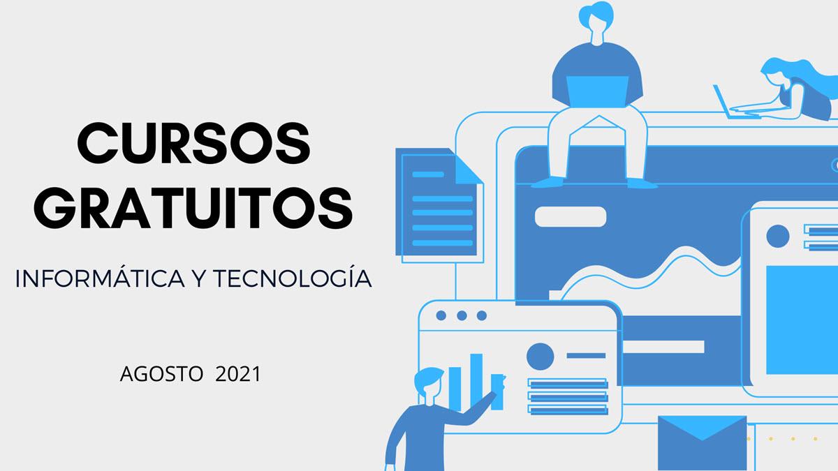 20 cursos gratuitos de tecnología para comenzar en agosto