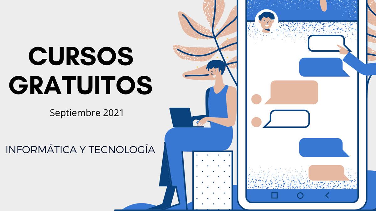 25 cursos gratuitos de tecnología para empezar en septiembre