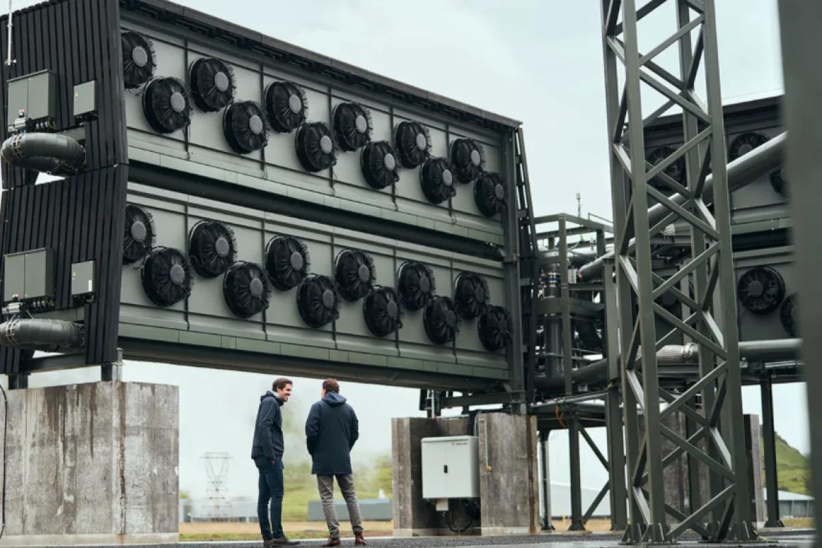 Crean la mayor planta de captura directa de aire del mundo para absorber el CO2