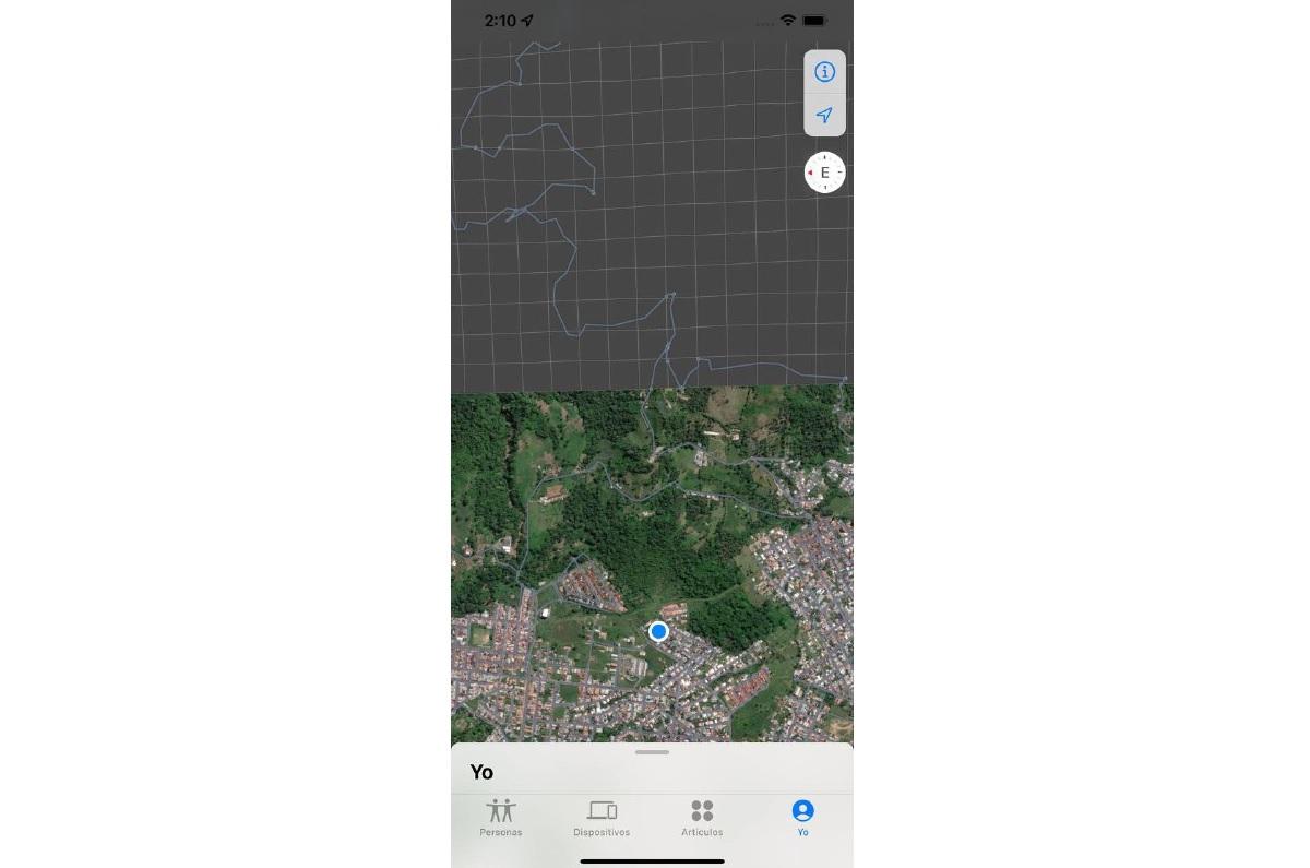 Encontrar app iOS 15