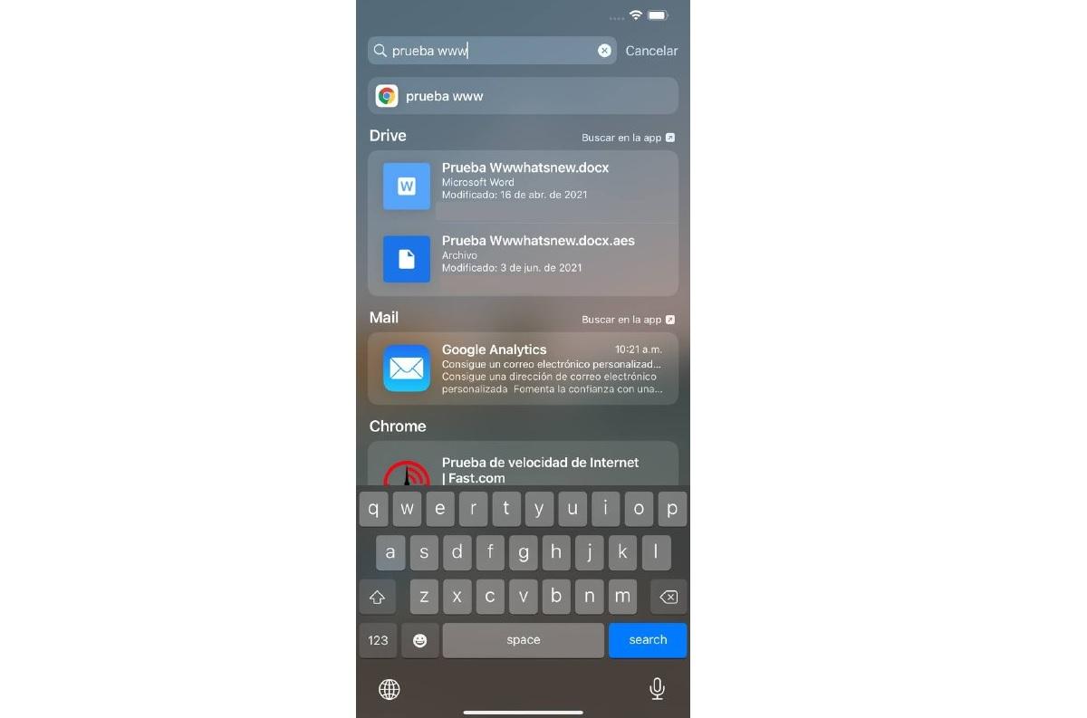 Funcion iOS 15