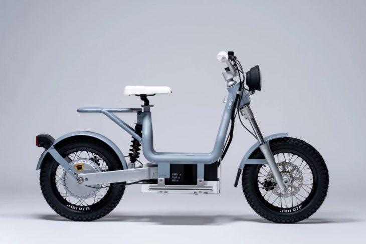 Makka, ciclomotor eléctrico para viajes urbanos y de aventura
