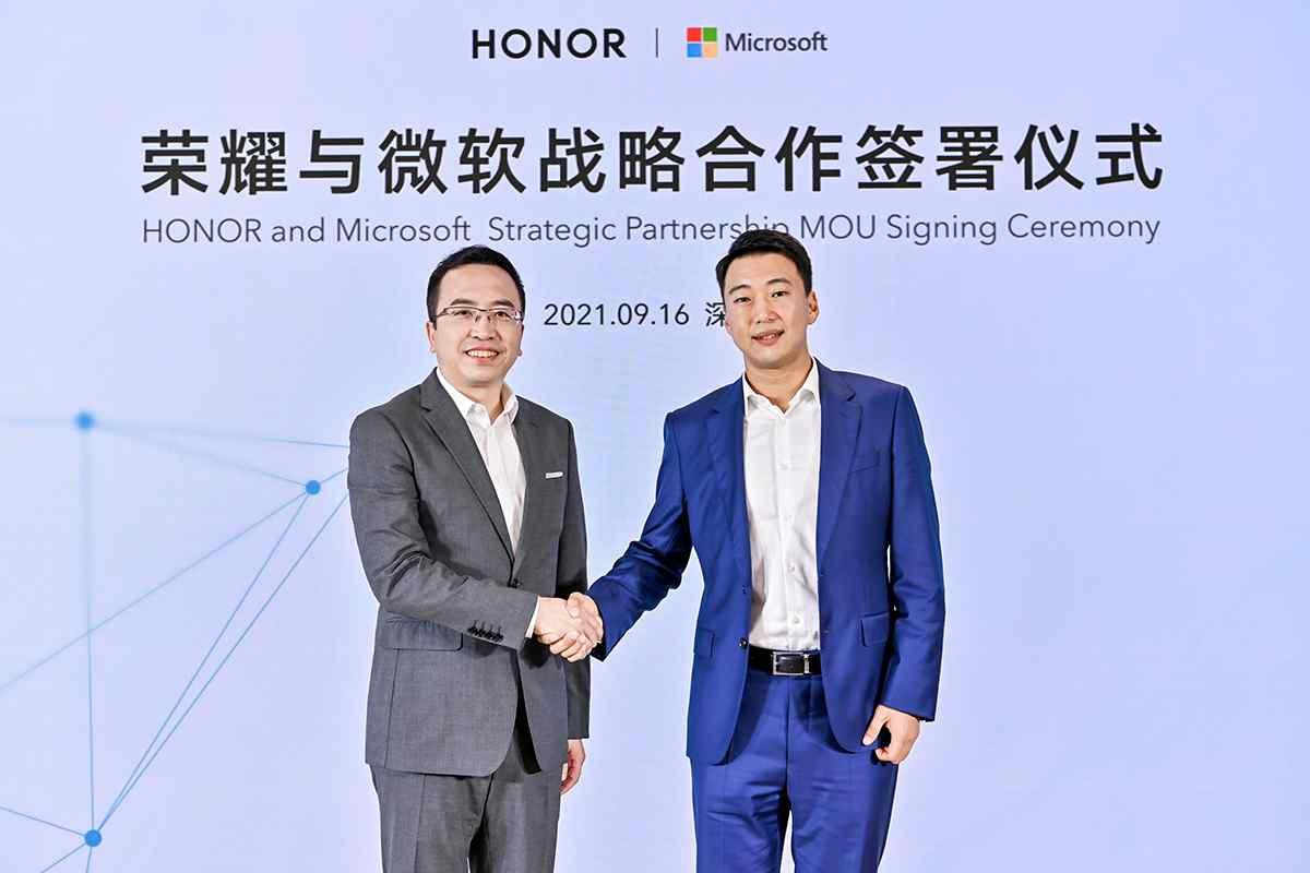 Microsoft y Honor firman acuerdo para el desarrollo de nuevos productos y servicios