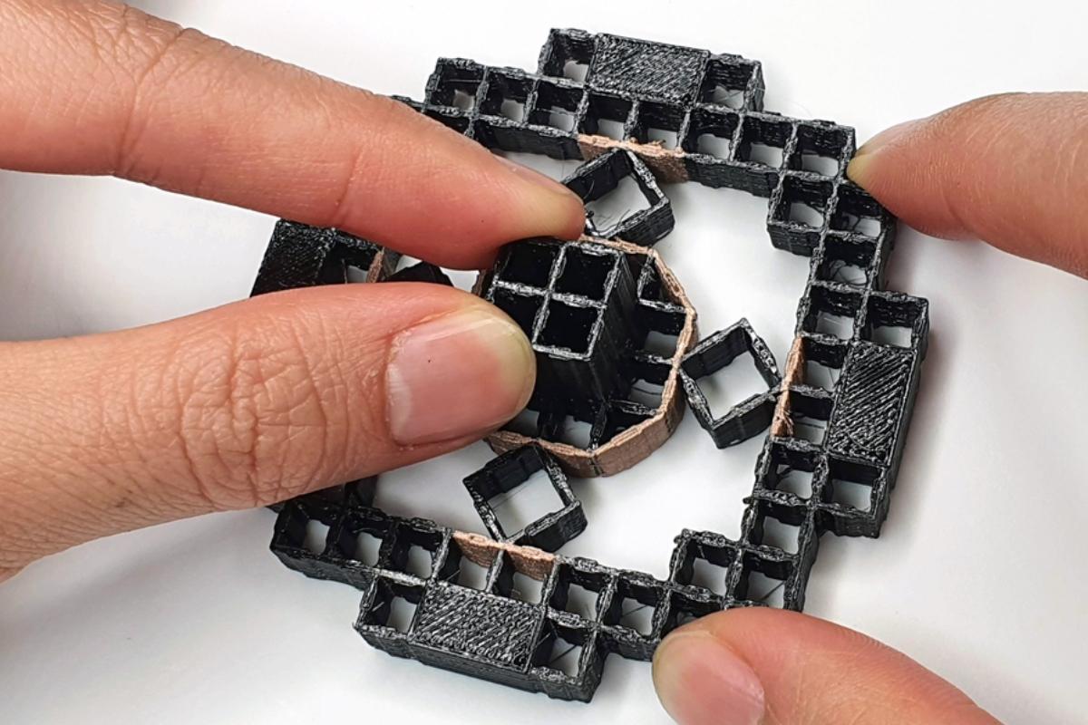 Objetos impresos en 3D que detectan la interacción del usuario