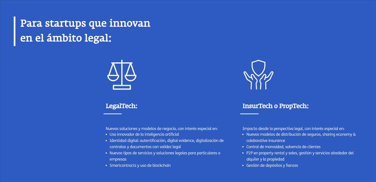 Para iniciativas tecnológicas innovadoras en el ámbito legal, un programa de aceleración que no puedes perder