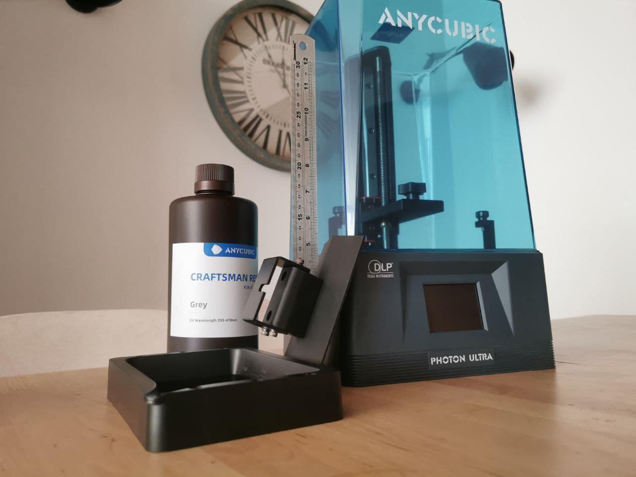 Anycubic Photon Ultra, la impresora 3D DLP de resina que destaca en kickstarter