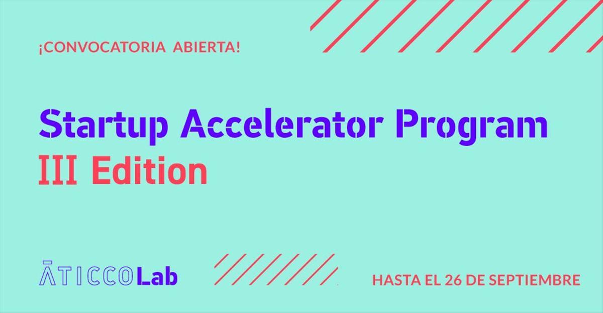 Si necesitas aceleración en tu startup, mira el programa de AticcoLab