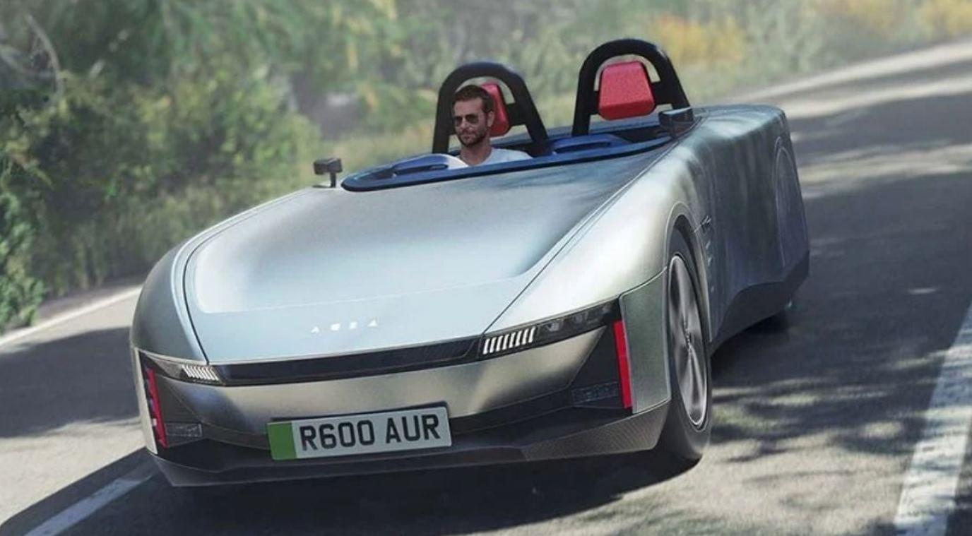 Aura, un impresionante coche deportivo eléctrico