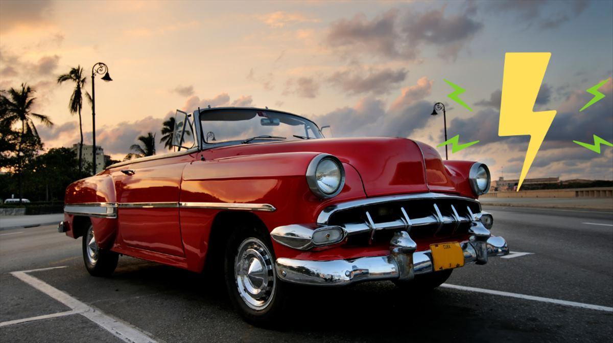 Transformando coches clásicos en coches eléctricos