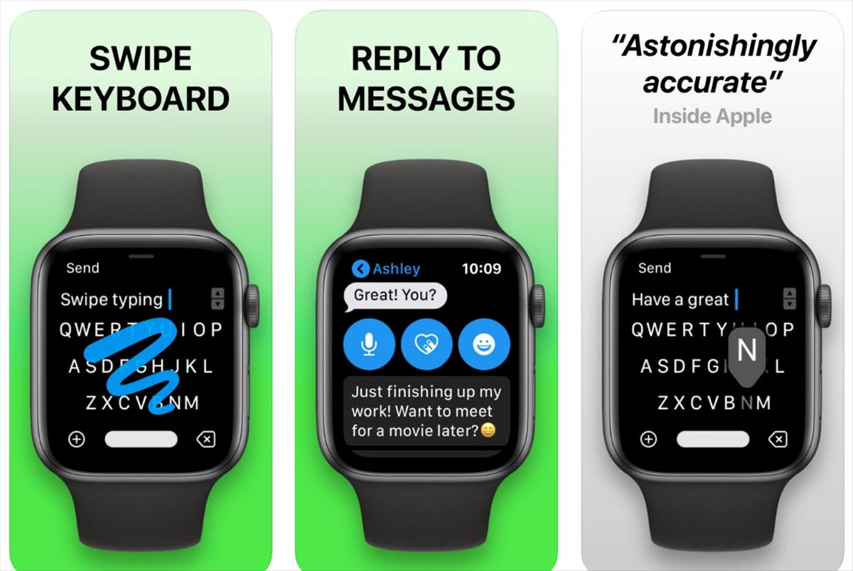 Un desarrollador de teclado para Apple Watch demanda a Apple por retirarlo y poner uno integrado