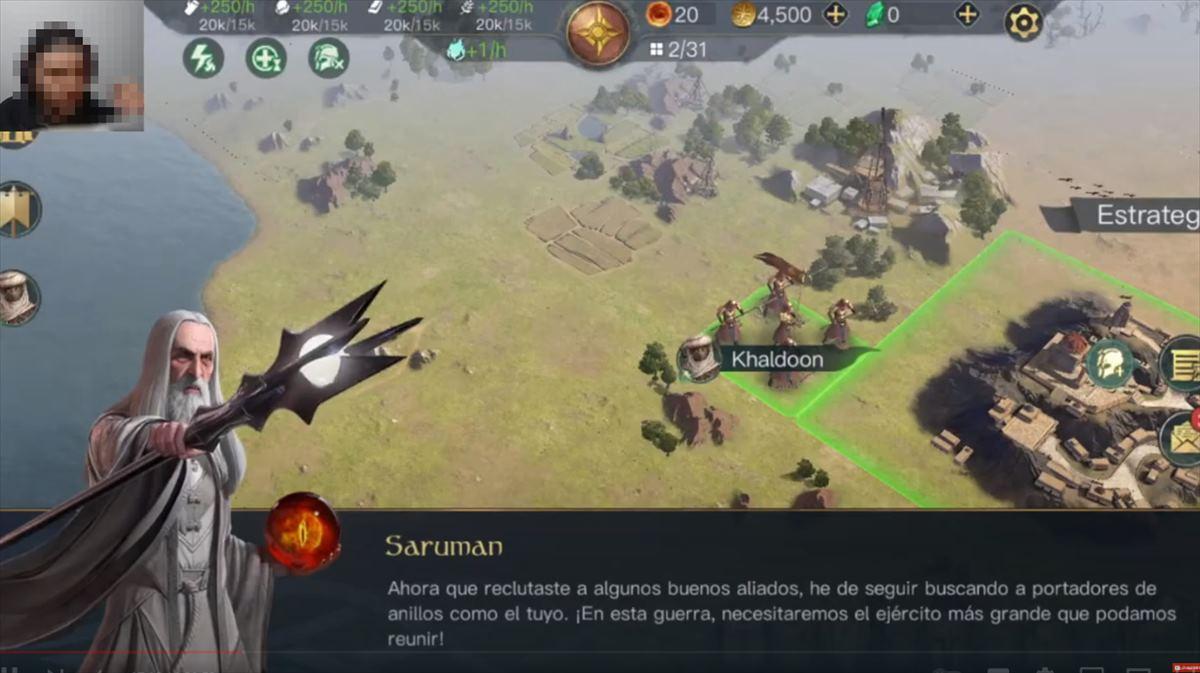 Opiniones del nuevo juego del Señor de los Anillos para android